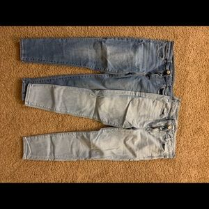 American Eagle Jeans: Size 14, 7 pairs